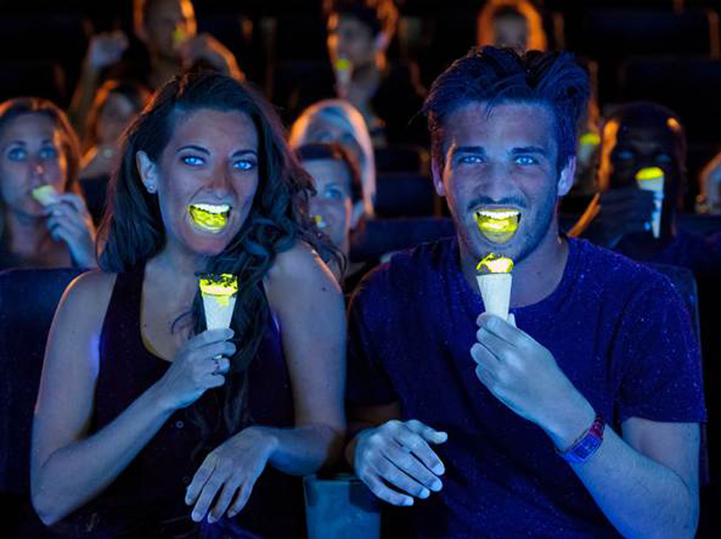 World's First Fluorescent Ice Cream Will Cost You $225 a Scoop