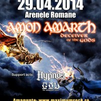 Apotheoses se alatura celor de la God – The Barbarian Horde si Neutron la Warm Up-Party-ul Amon Amarth
