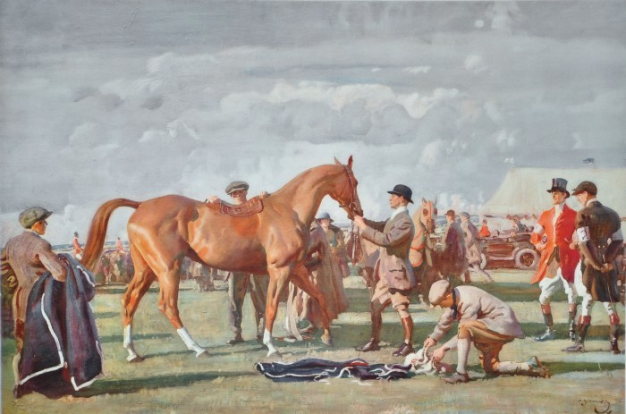 Alfred Munnings The Red Prince Mare- tablou licitat
