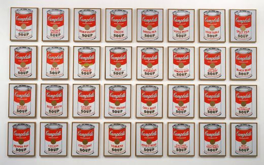 Andy Warhol Campbelle soup 1