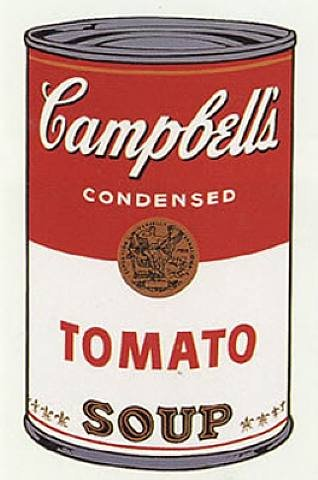 Andy Warhol Campbelle soup