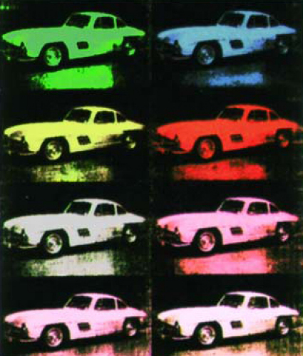 Andy Warhol car