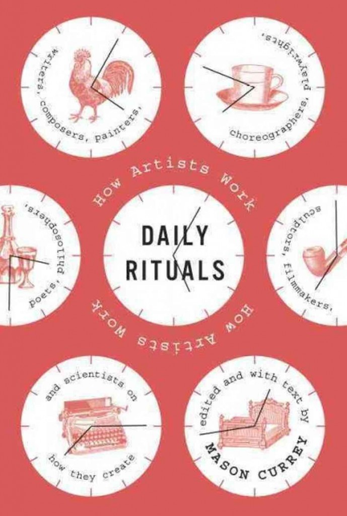 Daily Rituals How Artists Work carte