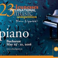 EUROPAfest2016: Jeunesses International Piano Competition Dinu Lipatti