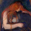 Edvard Munch, expresia suferintei in pictura