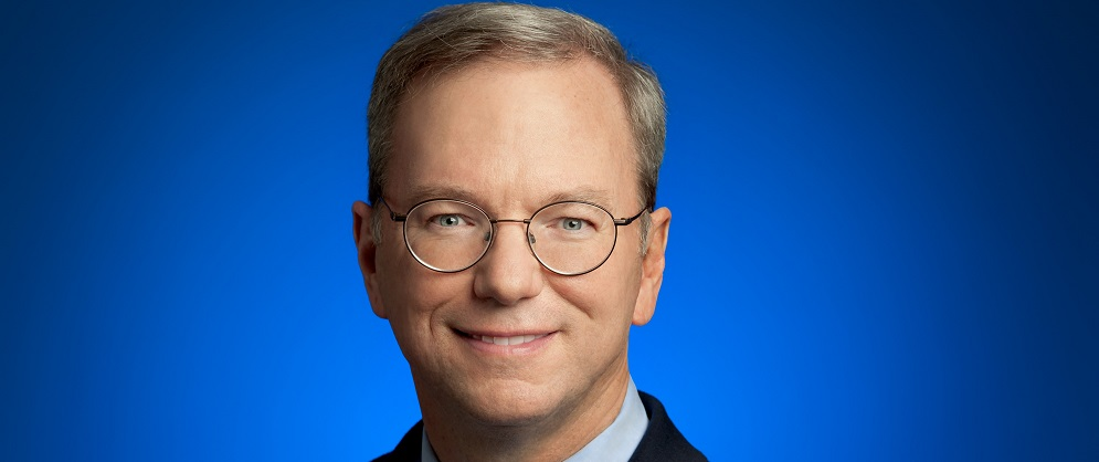 Eric Schmidt official headshot
