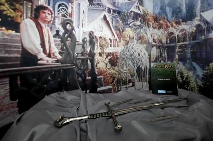 Lord Of The Rings at museum