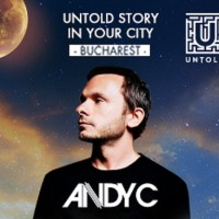 Untold Story in Your City: ANDY C vine la București!