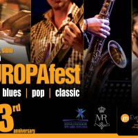Start EUROPAfest 2016: 10 zile de jazz, blues, pop şi clasic