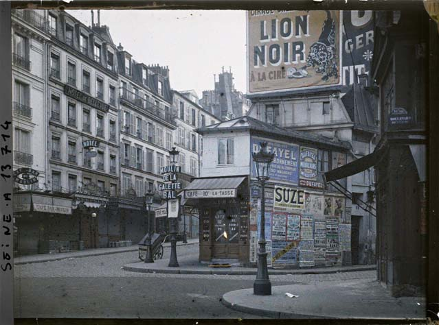 Rue Lepic 1914, Georges Chevalier