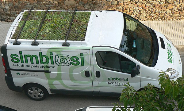 PhytoKinetic vehicles to expand the garden area in urban areas, Spain - Aug 2013