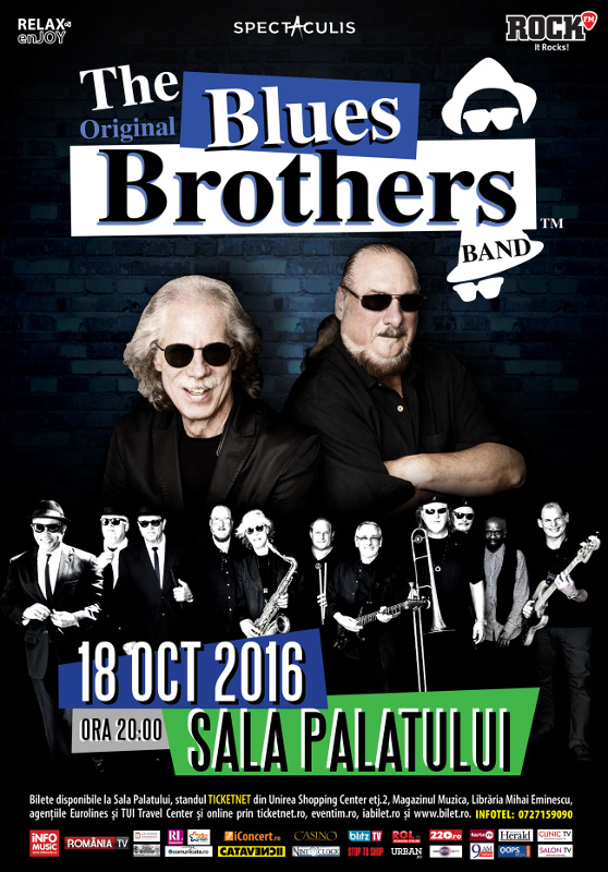 The Original Blues Brothers Band, concert în România